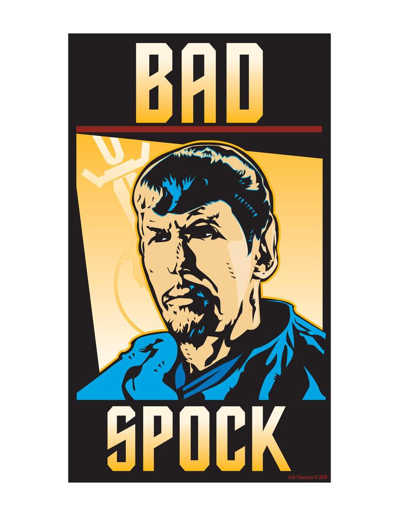 BAD SPOCK by MercenaryGraphics