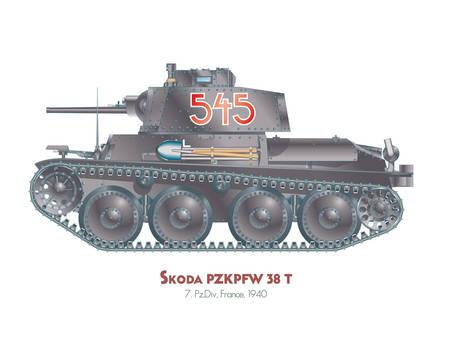 Skoda Pzkw 38t