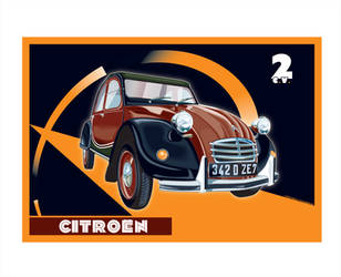 Citroen 2CV by MercenaryGraphics