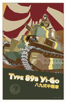 Type 89 Yi Go by MercenaryGraphics