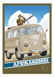 AFRIKAKOMBI by MercenaryGraphics
