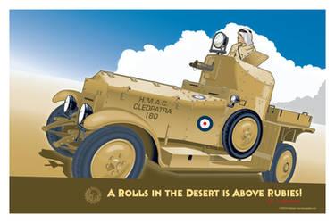 Rolls Royce Silver Ghost Armoured Car Mk I v2