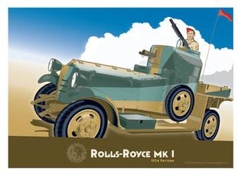 Rolls Royce 1924 v2 by MercenaryGraphics