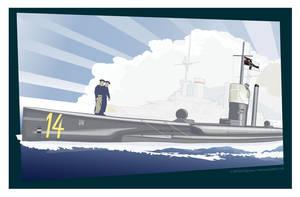 U14 Unterseeboot by MercenaryGraphics