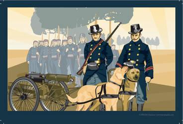 mitrailleuse belge by MercenaryGraphics