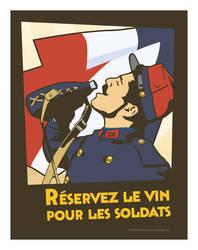 Reservez le vin pour les Soldats by MercenaryGraphics