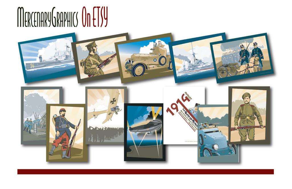 Etsy-promo by MercenaryGraphics