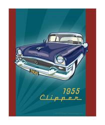 55 Packard Clipper by MercenaryGraphics