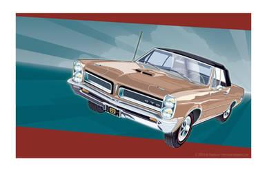 1965 GTO by MercenaryGraphics