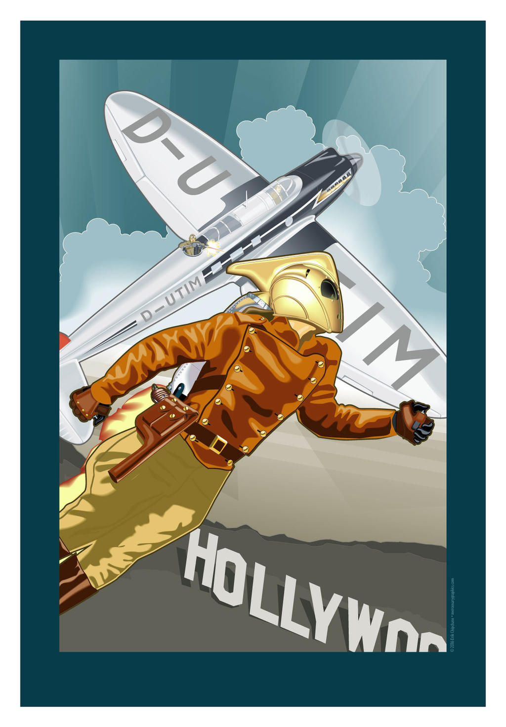 The Rocketeer by MercenaryGraphics