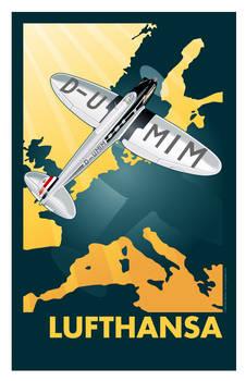 Lufthansa Poster