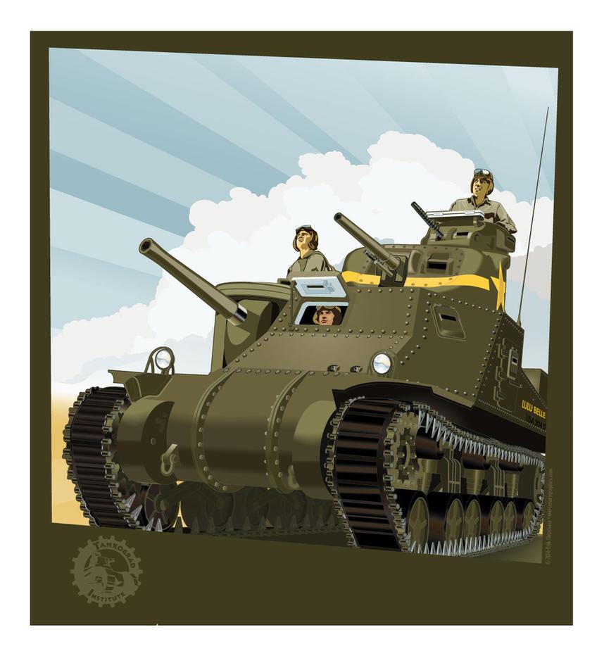 M3 Lee by MercenaryGraphics