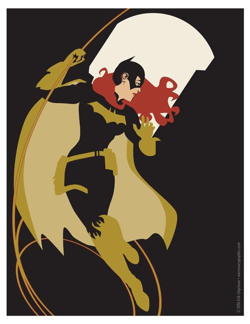 Batgirl by MercenaryGraphics