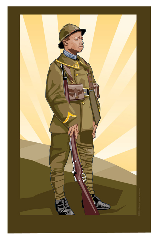Tirailleurs Senegalais 1917 by MercenaryGraphics