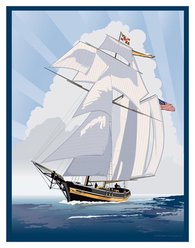 Pride of Baltimore II by MercenaryGraphics