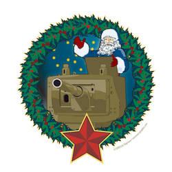 Christmas Tank mercenarygraphics