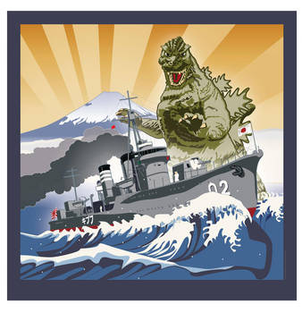 Gojira 1942 by MercenaryGraphics