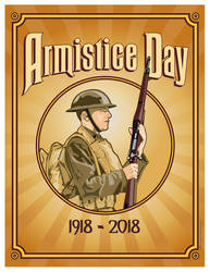 Armistice Day 1918-2018 by MercenaryGraphics