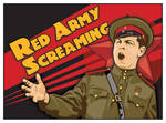 Red Army Screaming by MercenaryGraphics
