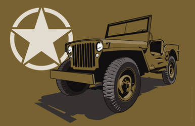 Willys  Jeep by MercenaryGraphics