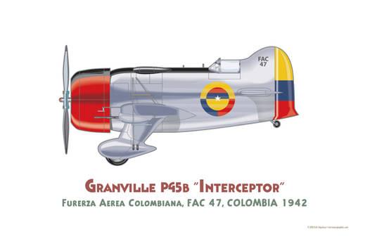 GeeBee Fuerza Aerea Colombiana