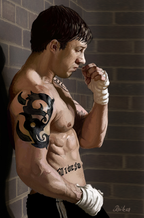 Tom Hardy Tattoos Warrior