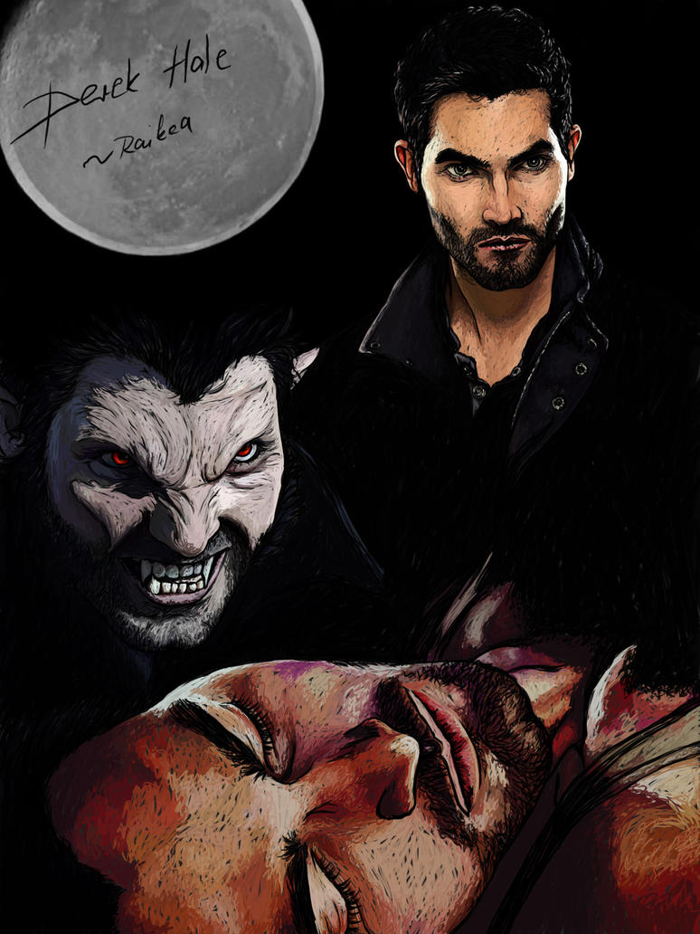 derek hale collage by Raikea