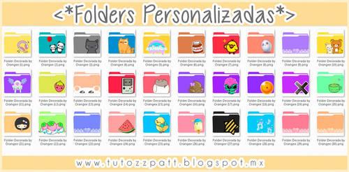 Folders Cute Decoradas by OrangeePatt