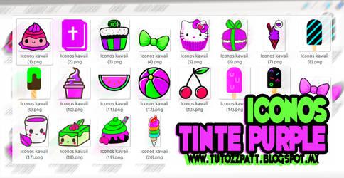 TINTE PURPLE iconos Pack
