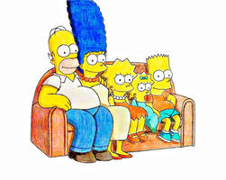 The Simpsons by JBugg95