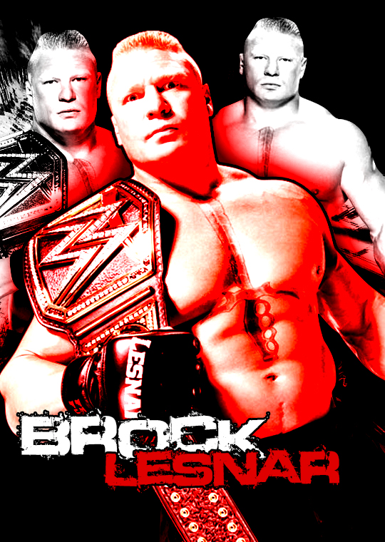 WWE World Heavyweight Champion Brock Lesnar. by CarlDarwin ...