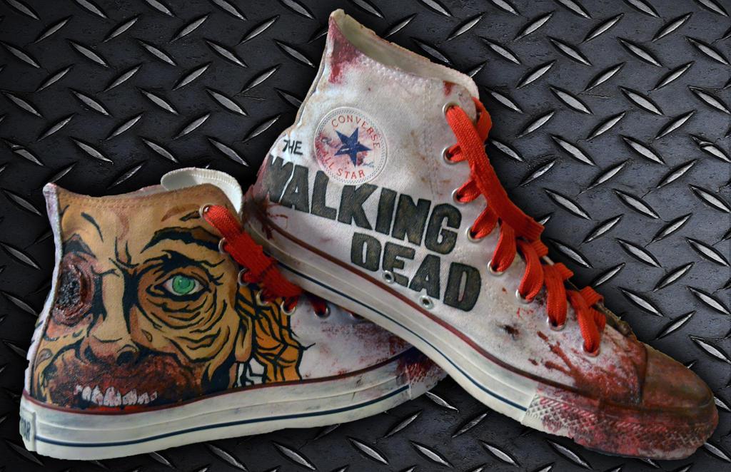The Walking Dead Shoes Converse