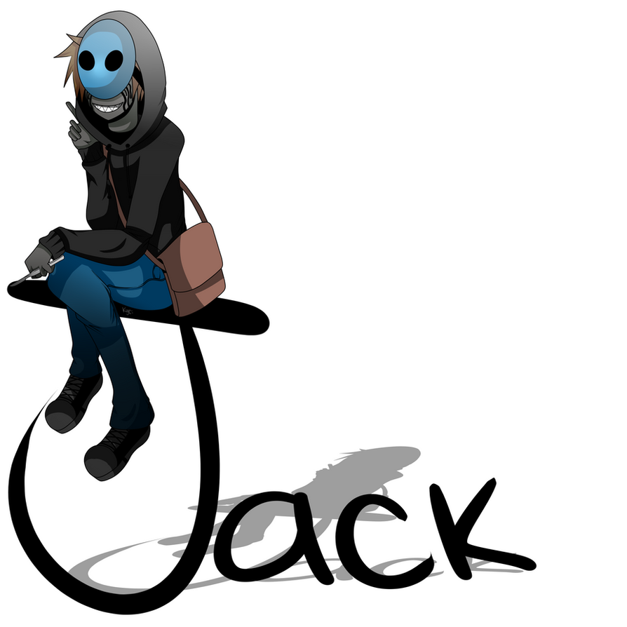 more eyeless jack fanart by drbisou on deviantart