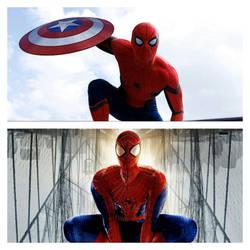 Spider-Man's film versions by MarkDekaBreak