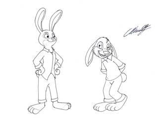 The Brer' Rabbit meets Judy Hopps by MarkDekaBreak