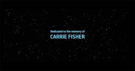 Star Wars EpisodeVIII - End Credits (In Memory) by MarkDekaBreak