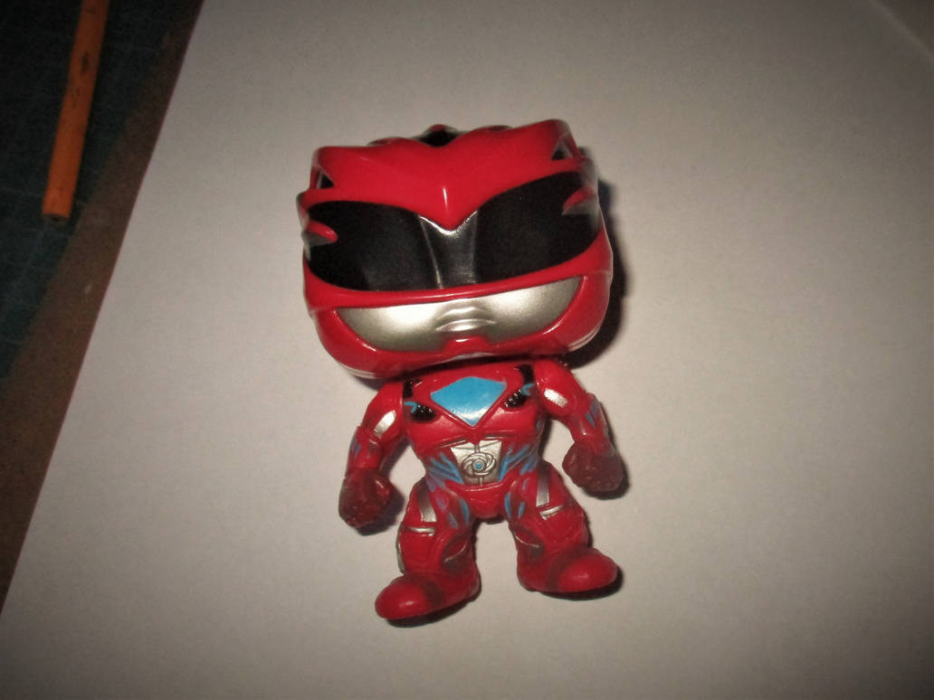 Funko Pop - Red Ranger (Power Rangers 2017) by MarkDekaBreak