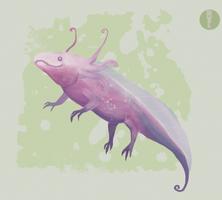 Axolotl by Madfairy7