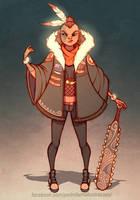 Maori warrior by DrunkenGren