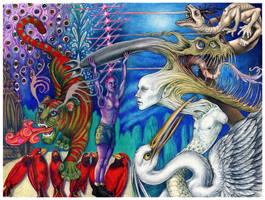 Tiger Bomb blues by larkin-art