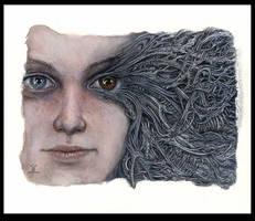 stink Eye by larkin-art