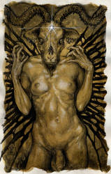 hands of Baphomet by larkin-art