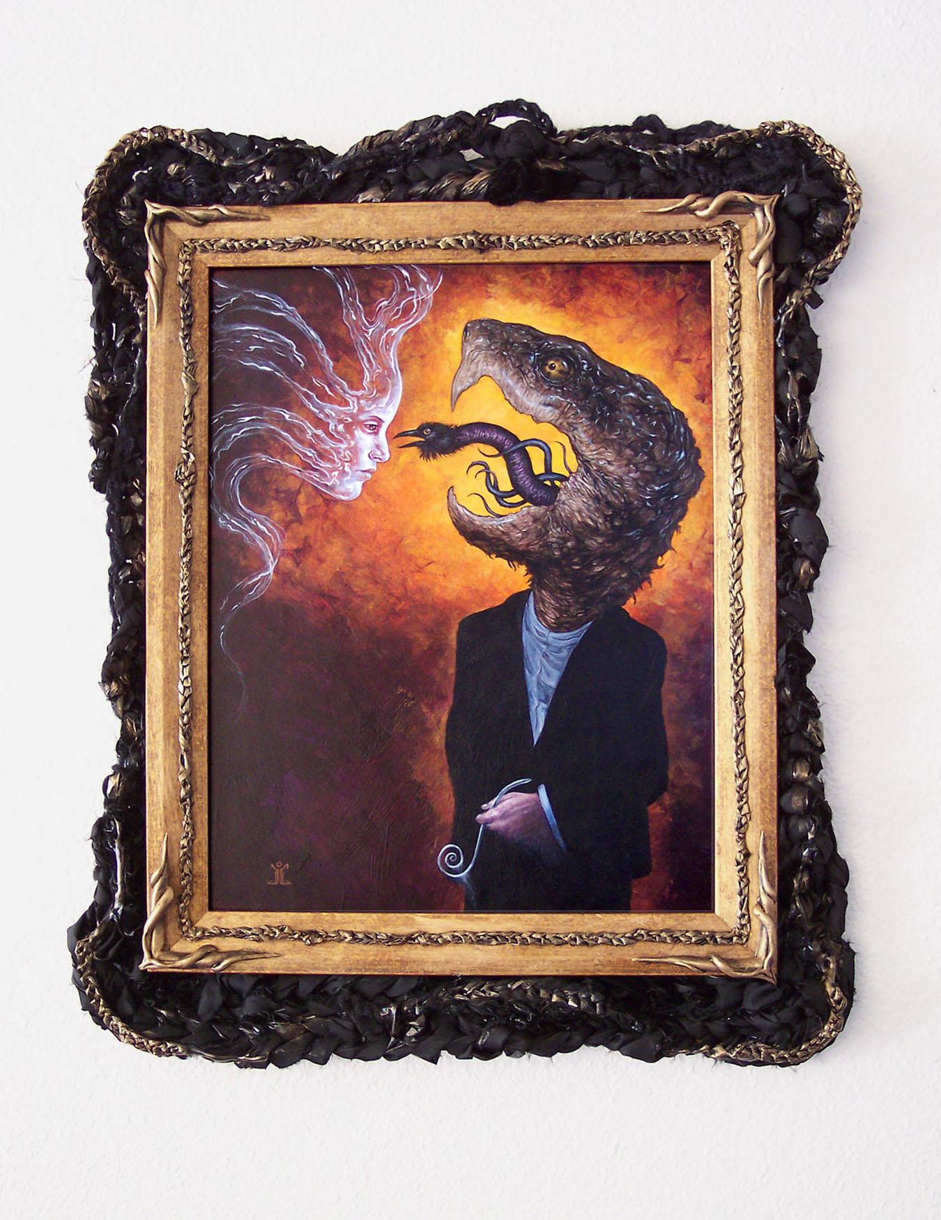 Ghost Catcher by larkin-art