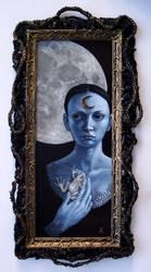 Blue Moon Dreaming by larkin-art