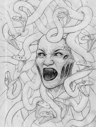 rage for Athena sketch