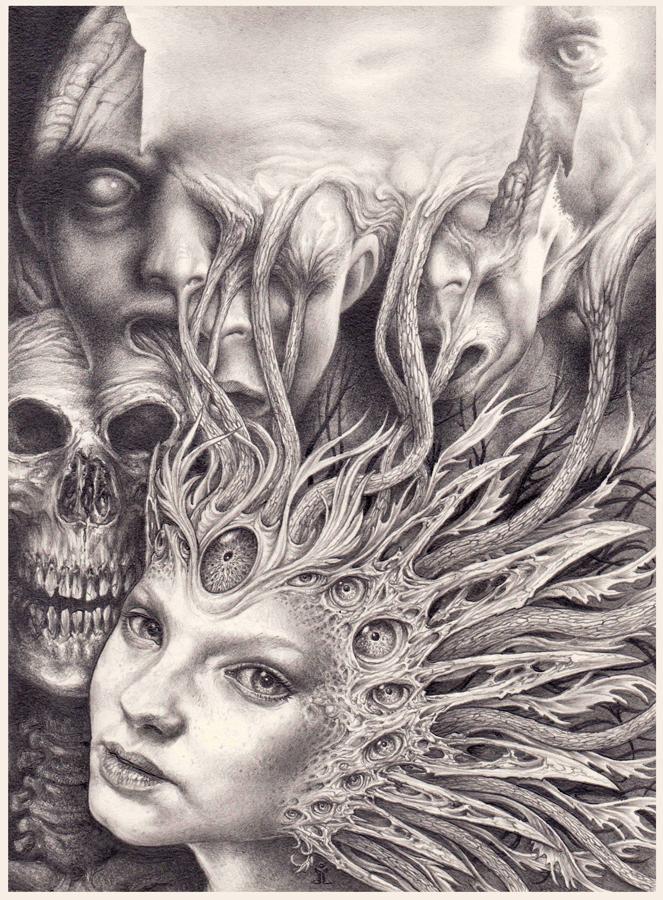 Lady Y by larkin-art