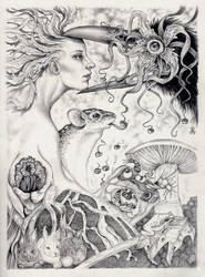Mother Nature- EC with Franci by larkin-art