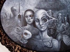 Dystopia, Detail 1 by larkin-art