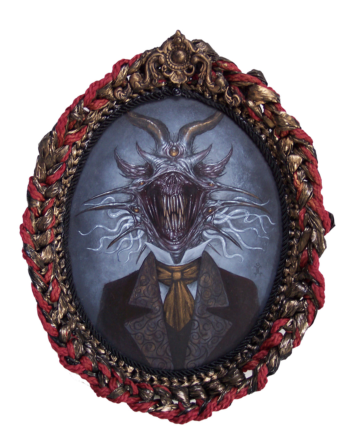 That Lovecraft Smile by larkin-art