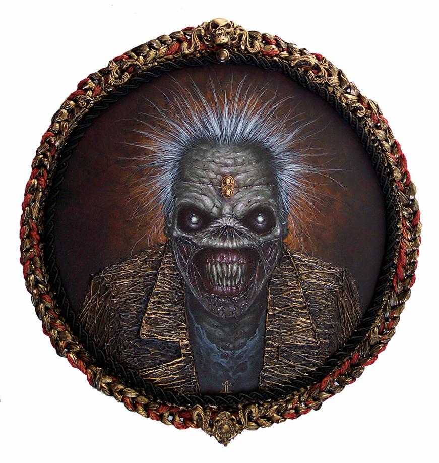 Iron Maiden-The Wicker Man by larkin-art